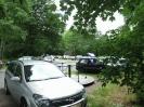 Die Parkplätze